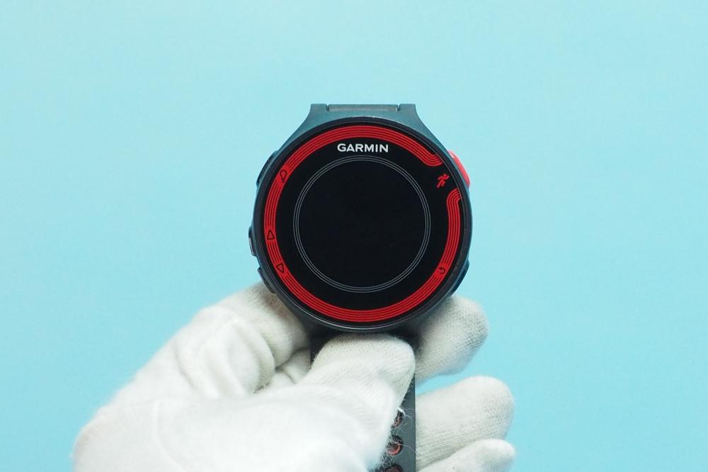 729c9e6987 GARMIN(ガーミン) ランニングウォッチ GPS ForeAthlete 220J ブラック/レッド Bluetooth対応、その他